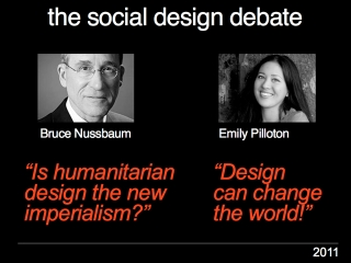 THE SOCIAL DESIGN DEBATE